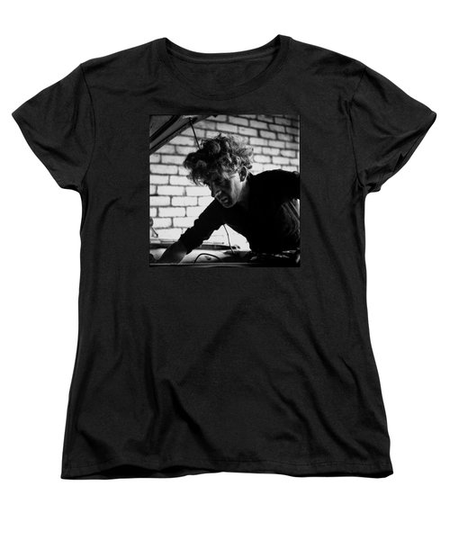 Women's T-Shirt (Standard Cut) featuring the photograph Men At Work - Series I by Doc Braham