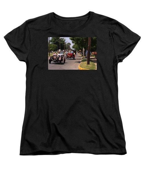 Mercers On Parade Women's T-Shirt (Standard Cut) by Mustafa Abdullah