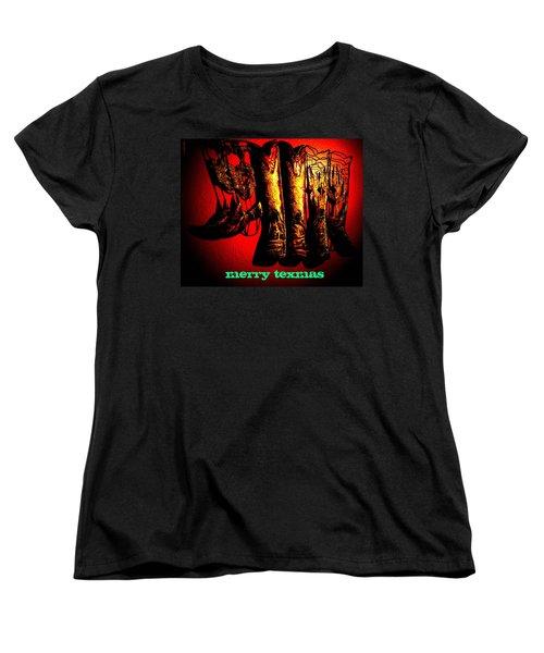 Merry Texmas Women's T-Shirt (Standard Cut)