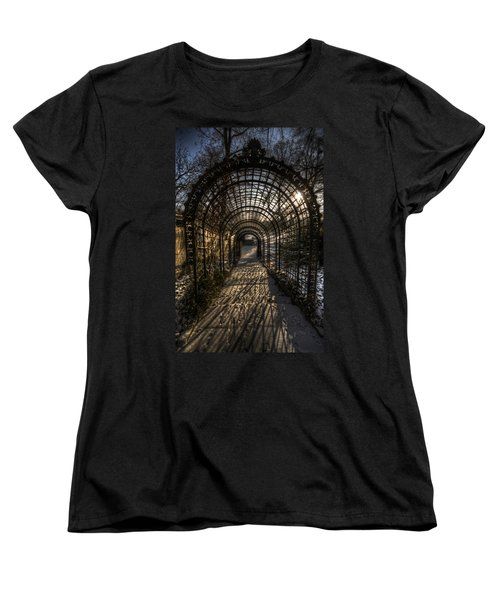 Metal Garden Women's T-Shirt (Standard Cut) by Nathan Wright