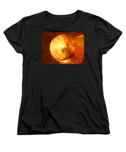 Meteoric Onion Women's T-Shirt (Standard Cut) by Brian Boyle
