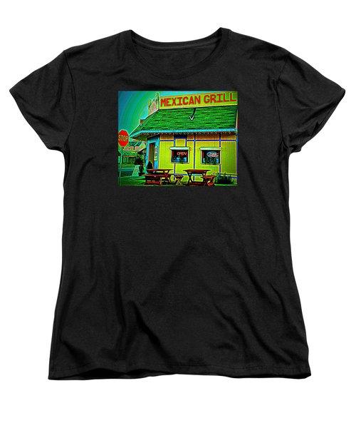 Mexican Grill Women's T-Shirt (Standard Cut)