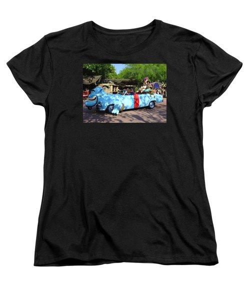 Women's T-Shirt (Standard Cut) featuring the photograph Mgm Aladdin by David Nicholls