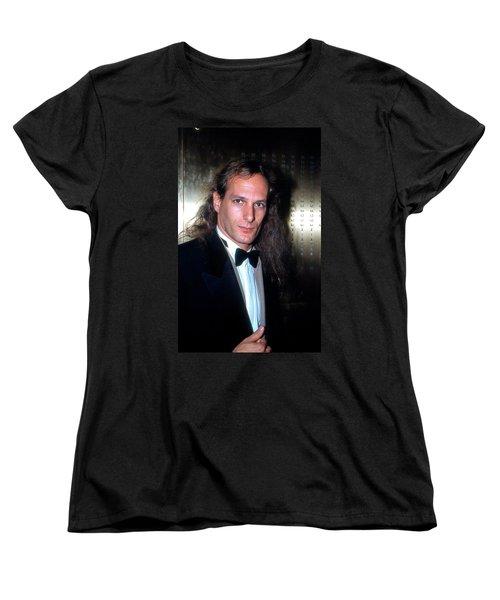 Michael Bolton 1990 Women's T-Shirt (Standard Cut) by Ed Weidman