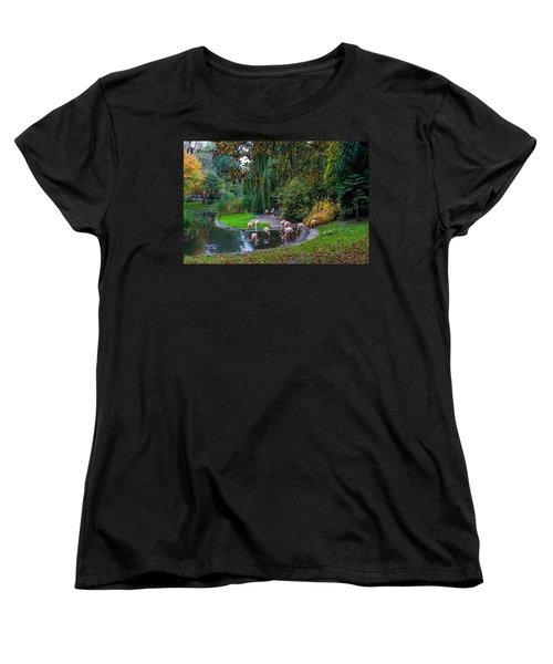 Mighty Legs Women's T-Shirt (Standard Cut) by Tgchan