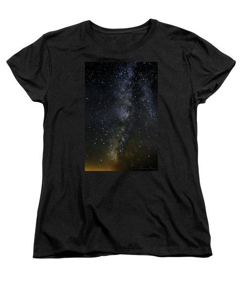 Milky Way Women's T-Shirt (Standard Cut) by Marlo Horne