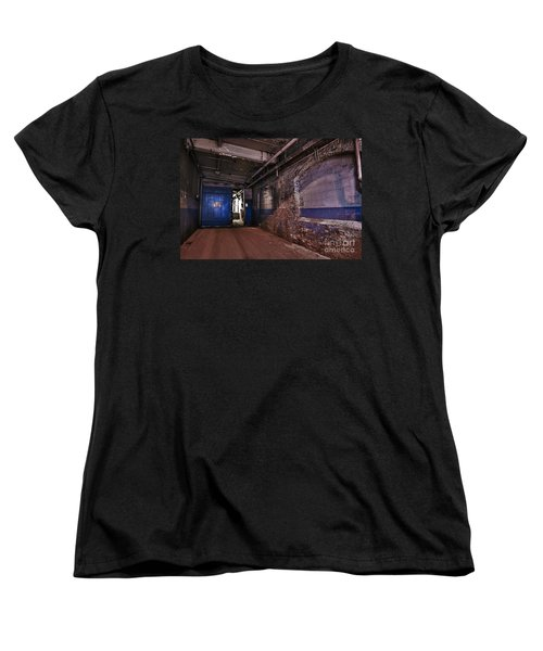 Women's T-Shirt (Standard Cut) featuring the photograph Mill Hall by Alana Ranney