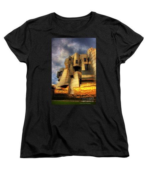 Minneapolis Skyline Photography Weisman Museum Women's T-Shirt (Standard Cut) by Wayne Moran