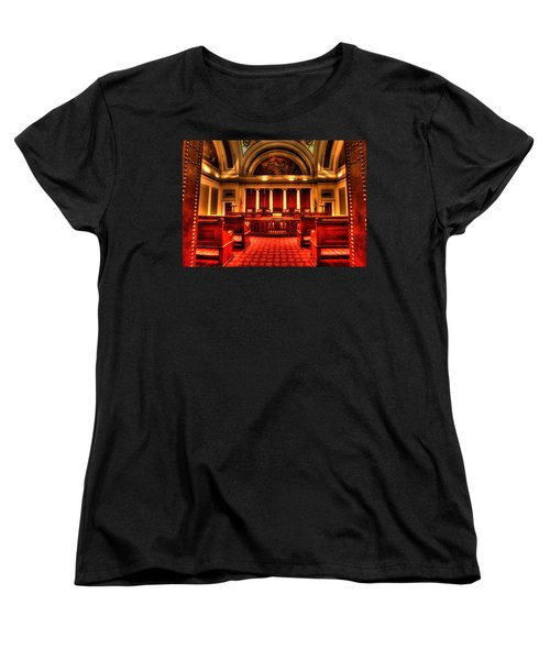 Minnesota Supreme Court Women's T-Shirt (Standard Cut) by Amanda Stadther