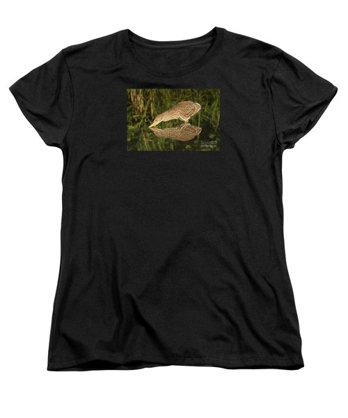 Mirror Mirror On The Wall Who Is The Fairest Heron Of All Women's T-Shirt (Standard Cut) by Heather King
