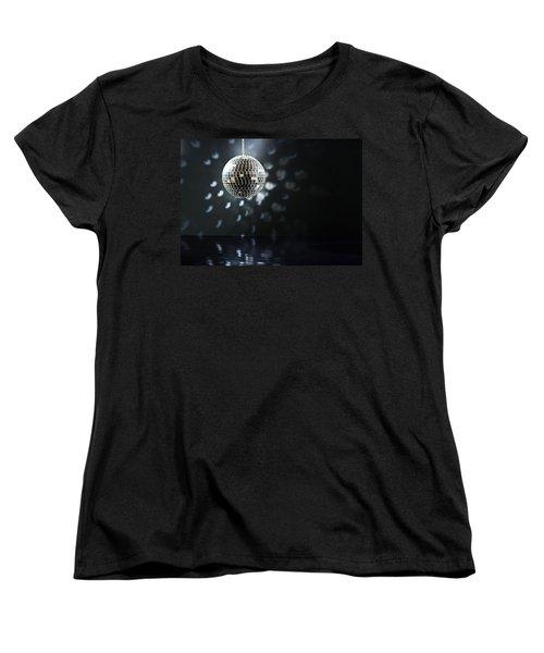 Mirrorball Women's T-Shirt (Standard Cut) by Ulrich Schade