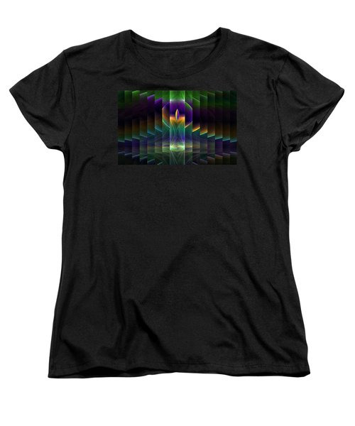 Mirrored Women's T-Shirt (Standard Cut) by GJ Blackman