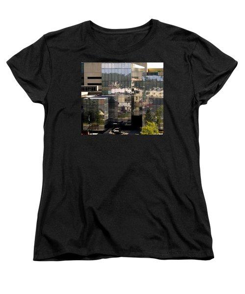 Mirroring  Women's T-Shirt (Standard Cut) by Tara Lynn