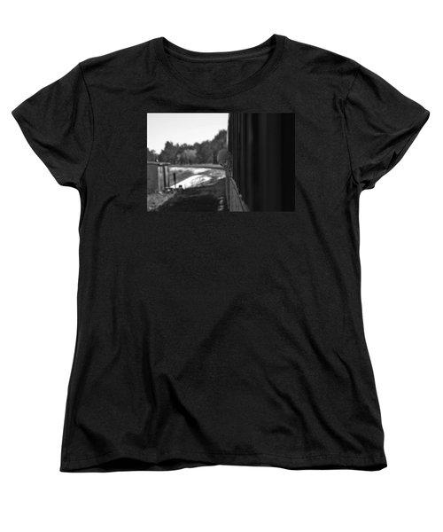 Women's T-Shirt (Standard Cut) featuring the photograph Mischief by Jeremy Rhoades