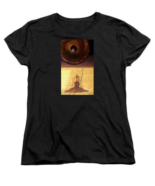 Women's T-Shirt (Standard Cut) featuring the photograph Misperception by James Aiken