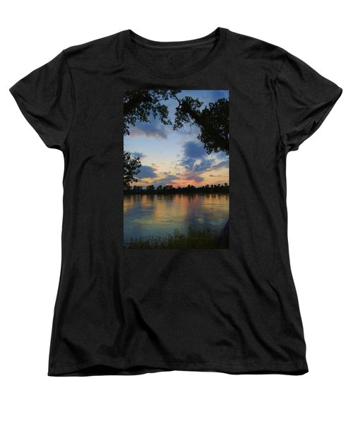 Missouri River Glow Women's T-Shirt (Standard Cut) by Cricket Hackmann