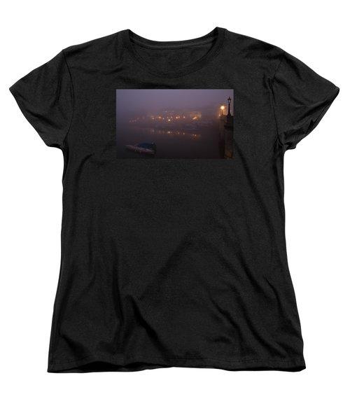 Misty Richmond Upon Thames Women's T-Shirt (Standard Cut) by Maj Seda