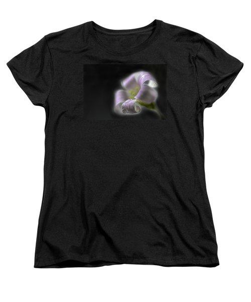 Misty Shamrock 3 Women's T-Shirt (Standard Cut) by Susan Capuano