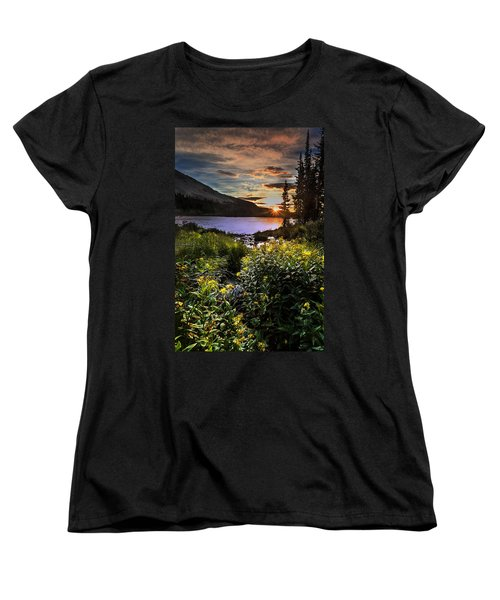 Mitchell Sunrise Women's T-Shirt (Standard Cut) by Steven Reed