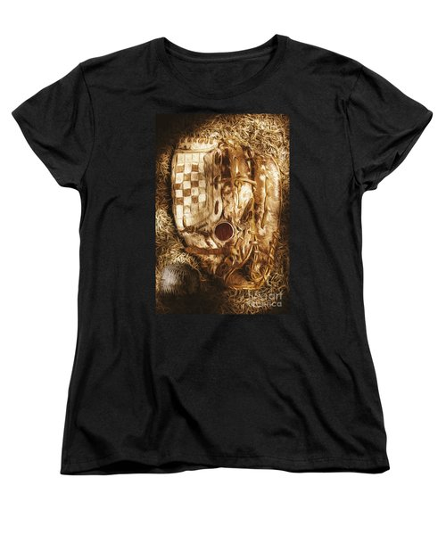 Mitts And Squiggles  Women's T-Shirt (Standard Cut) by Jorgo Photography - Wall Art Gallery