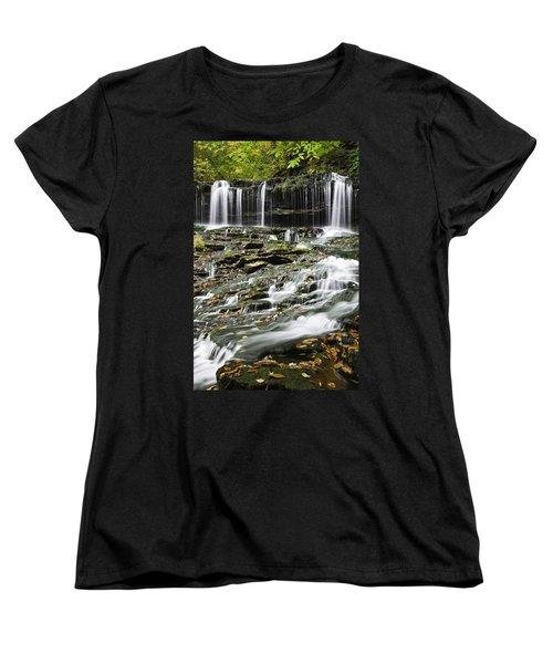 Mohawk Falls 2 Women's T-Shirt (Standard Cut)