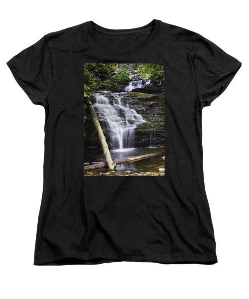 Mohican Falls Women's T-Shirt (Standard Cut)