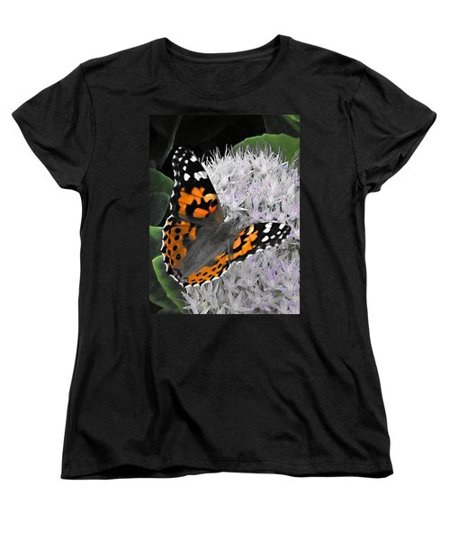 Monarch Women's T-Shirt (Standard Cut) by Photographic Arts And Design Studio