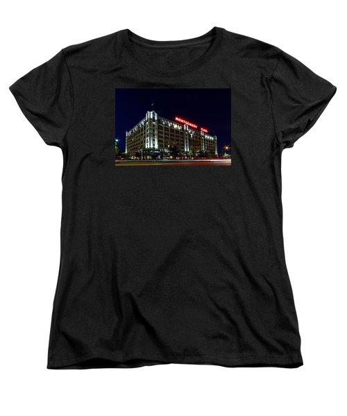 Montgomery Plaza Fort Worth Women's T-Shirt (Standard Cut) by Jonathan Davison