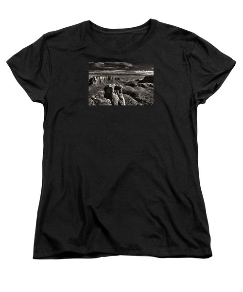 Monument Canyon Monolith Women's T-Shirt (Standard Cut) by William Fields