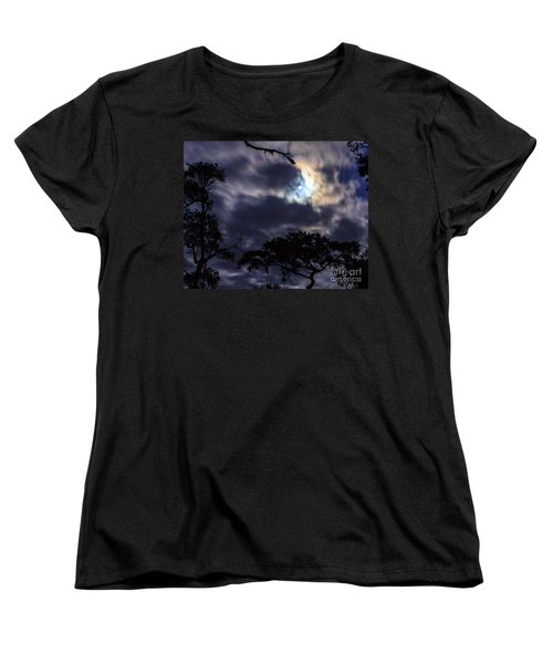 Moon Break Women's T-Shirt (Standard Cut) by Peta Thames