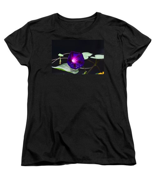 Morning Glory - Grandpa Ott's Women's T-Shirt (Standard Cut) by Kathy Eickenberg