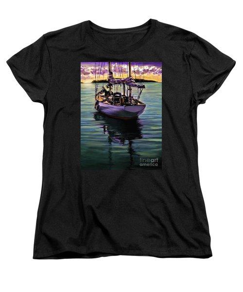 Morning Has Broken Women's T-Shirt (Standard Cut) by David  Van Hulst