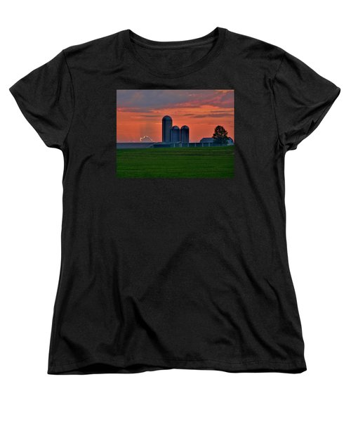 Morning Promise Women's T-Shirt (Standard Cut) by Robert Geary