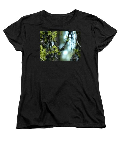 Mossy Playground Women's T-Shirt (Standard Cut) by Meghan at FireBonnet Art