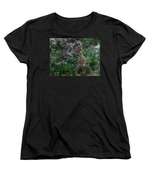 Mother And Child Women's T-Shirt (Standard Cut) by Greg Patzer