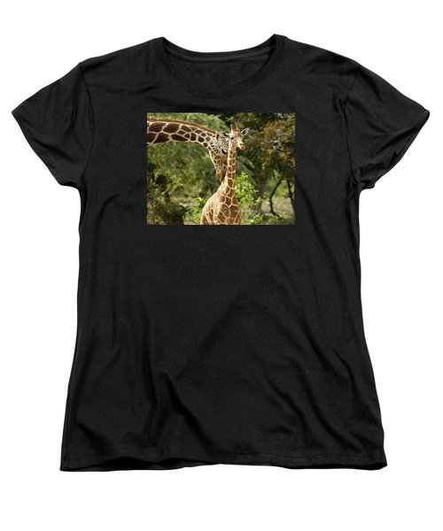 Mothers' Love Women's T-Shirt (Standard Cut) by Swank Photography