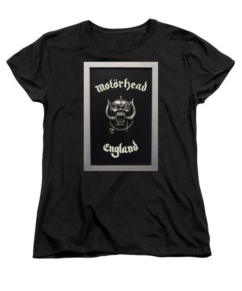 Motorhead England Women's T-Shirt (Standard Cut) by Jerry Cordeiro