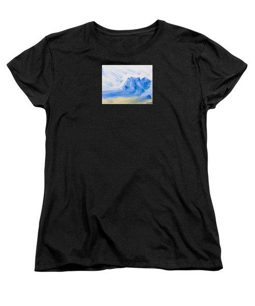 Mountains Tasmania Women's T-Shirt (Standard Cut) by Elvira Ingram