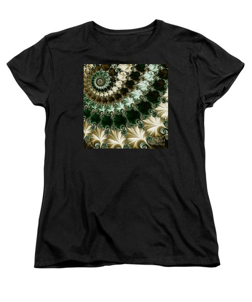 Mozart's Rhythm Women's T-Shirt (Standard Cut) by Mary Machare