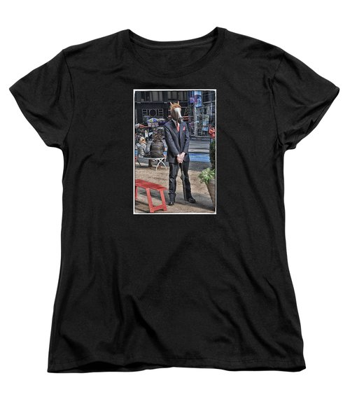 Women's T-Shirt (Standard Cut) featuring the photograph Mr. Ed by Mike Martin
