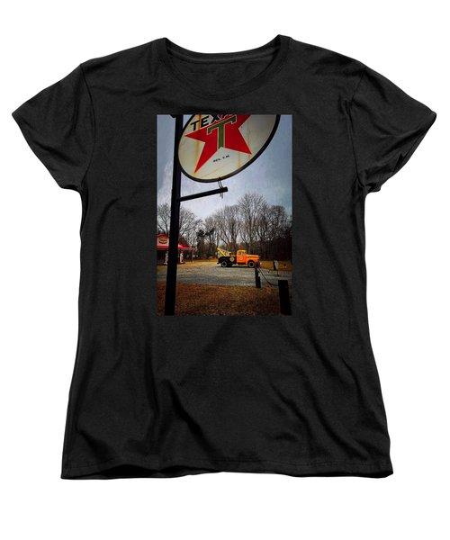 Mr. Towed's Magical Ride Women's T-Shirt (Standard Cut) by Robert McCubbin