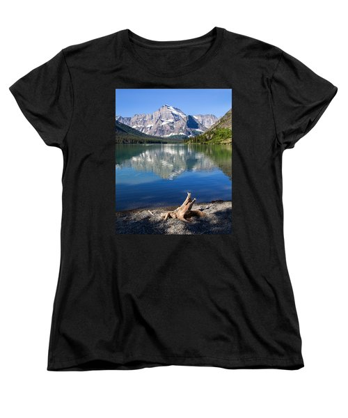 Mt Gould Reflections Women's T-Shirt (Standard Cut) by Jack Bell