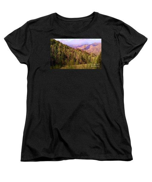 Mt. Lemmon Vista Women's T-Shirt (Standard Cut) by Robert ONeil