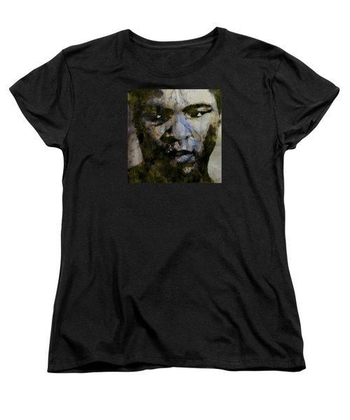 Muhammad Ali  A Change Is Gonna Come Women's T-Shirt (Standard Cut)