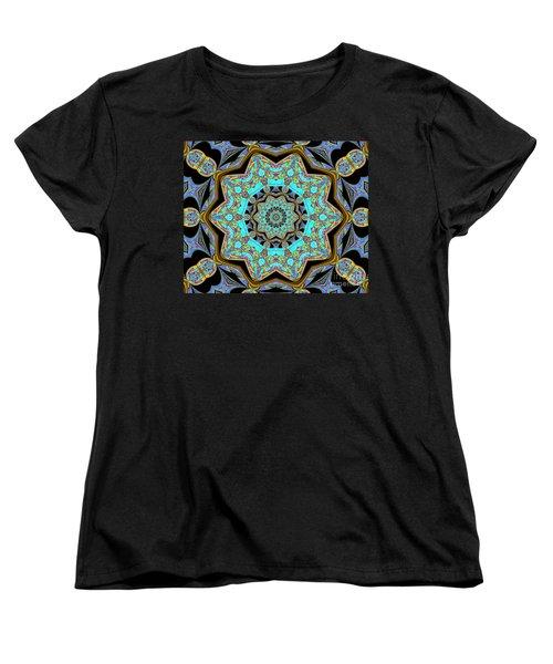 Music And Soul Women's T-Shirt (Standard Cut) by Oksana Semenchenko