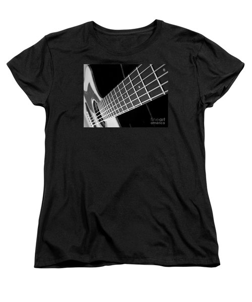 Women's T-Shirt (Standard Cut) featuring the photograph Music To My Soul by Andrea Anderegg