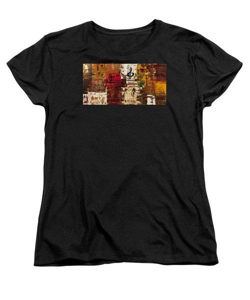 Music World Tour Women's T-Shirt (Standard Cut) by Carmen Guedez
