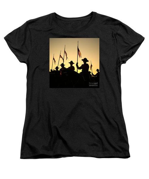Musical Ride Women's T-Shirt (Standard Cut) by Chris Dutton