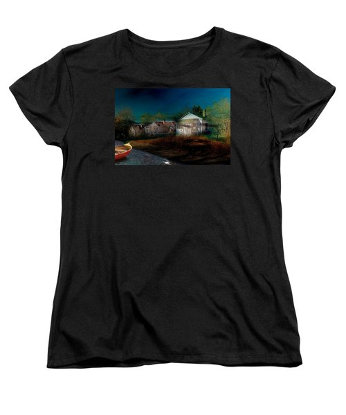 My Dream House Women's T-Shirt (Standard Cut) by Gunter Nezhoda