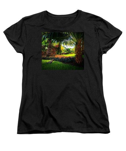 My Pal Iggy Women's T-Shirt (Standard Cut) by Robert McCubbin